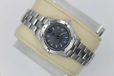 Tag Heuer WAF1417.BA0812 Blue MOP Mother of Pearl Aquaracer Watch Womens SS