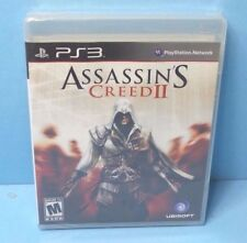 Assassin's Creed II for PS3, BLACK LABEL, BRAND NEW FACTORY SEALED