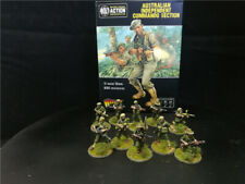 Painted Bolt Action WW2 Australian Independent Command Section,Warlord Games