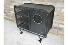 Industrial Factory Style Metal Storage Cabinet - 3 Mesh Drawers