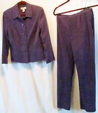 Judith Hart Collection 8 Purple Pant Suit