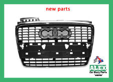 Audi A4 04-08 Front grille With chromium frame Park Control