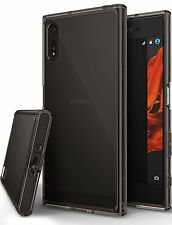 Sony Xperia XZ / XZs Case Anti Dust Black Cover Screen Protector Bumper Tough