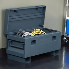 Trinity Job Site Box, 36-inch in Gray with Tamper-proof Locking, TXKPGR-0502 New