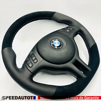 Mise au Point Aplati Alcantara Volant Cuir BMW E46 E39 X5,24MOISDEGARANTIE-*