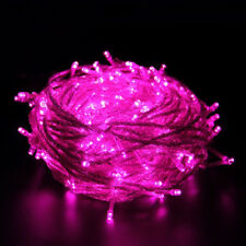 Xmas 100M 800LED Light String Outdoor Waterproof Fairy Christmas 220V Pink