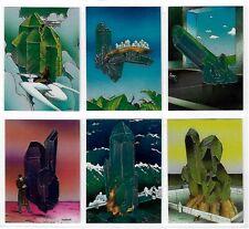 1993 MOEBIUS CHROMIUM FOIL CHASE SET (6) INSERT Comic Images