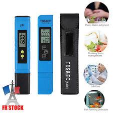 PH & TDS EC LCD Compteur Pureté de l'eau Filtre PPM Testeur de Piscine Stylo