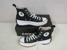 Converse Unisex US M7.5/W9 Run Star Hike Hi Top Sneakers Black 166800C