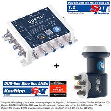 DUR-line MS 5/8 blue eco Multischalter für 8 Teilnehmer + Blue ECO Quattro LNB