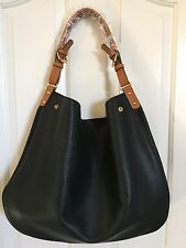 SOLE SOCIETY *CAPRI OVERSIZED TRAVEL* TOTE W/POUCH BLACK *NWT*