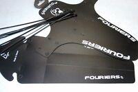FOURIERS Bike Bicycle Fender Mudguard SET Mountain Bike MTB Front/Rear