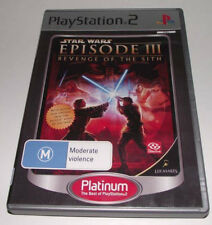 Star Wars Episode III Revenge of Sith PS2 (Platinum) PAL *Complete*
