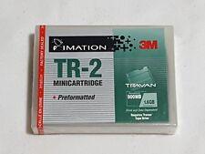 NEW 3M Imation Travan TR-2 Minicartridge Data Cartridge SEALED 800MB / 1.6GB tr2