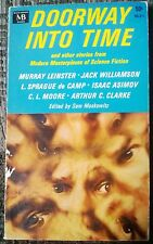 Doorway Into Time Vintage Science Fiction Asimov Clarke 1966 Out Of Print Rare!