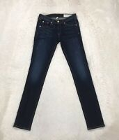 Rag & Bone Skinny Jeans Womens Jeggings Low Rise Dark Wash Stretch Ankle Size 25