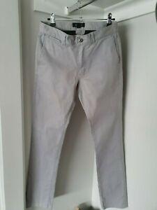 Kenji men's grey chino pants size 30