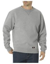 Dickies - Mens L - NWT - Heavy-Weight Heather Gray Fleece Crew Neck Sweatshirt