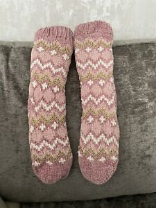 totes toasties slipper socks Women Pink