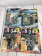 Lot of 4 star track generations / next generation action figures Playmates 1995