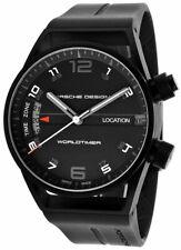 Porsche Design Worldtimer GMT Automatic Black PVD Titanium Mens Watch