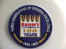 """Hamm's Beer patch 3"""" round"""