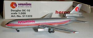 Herpa 1:500  Hawaiian Airlines   DC-10  -  511322