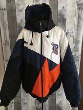 VTG Fans Gear Detroit Tigers Jacket Coat Parka Lined Quilted Baseball MLB Medium