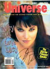 Sci-Fi Universe Magazine - Xena - Lucy Lawless Signed Autographed - Rare 1997