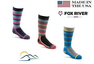 Youth Ski and Board Socks by Fox River Wool best to Keep Warm