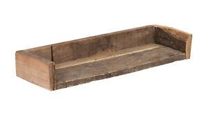 Wandregal Holz antik rustikal Landhaus shabby chic Hängeregal für Bad Büro Küche
