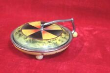 Girl's Compact Box Old Vintage Antique Home Decor Collectible PL-90