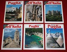 Bell'Italia lotto 6 numeri speciali da collezione Puglia  spc5