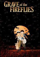 GRAVE OF THE FIREFLIES CARTOON ARABIC DVD FUS-HA WITH ENGLISH SUBTITLE