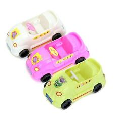 Girls Gift Model Club Car Golf Cart Vehicle Wheels Convertible for Barbie Doll