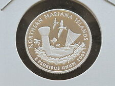 2009-S Northern Mariana Islands Silver Quarter DCAM Proof DC & U.S. Territories