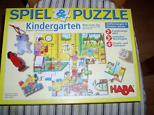 Haba Nr. 4267 - Spiel & Puzzle - Kindergarten - Mein erster Tag *