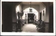 Liverpool - Woolton Convalescent Home vestibule - RP postcard c.1930s