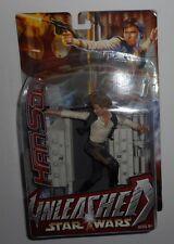 Star Wars Unleashed HAN SOLO Action Figure Collectible New NIP Hasbro 2003 Rebel