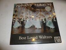 JOHANN STRAUSS - Best Loved Waltzes - 1967 UK Mono Vinyl LP