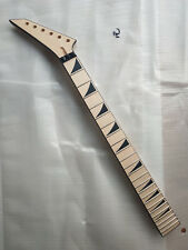 electric guitar neck maple 24 Frets Maple Fingerboard JACKSON style unfinished