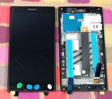 GENUINE BLACK SONY XPERIA L2 H3311 HD IPS LCD SCREEN DISPLAY FRAME