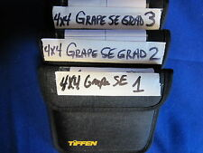 TIFFEN 4x4 FILTER  GRAPE  GRAD SE   # 1, 2, 3    (USED) (LOT OF 3)