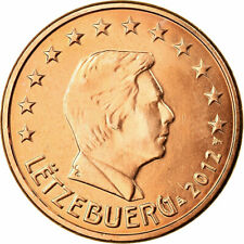 [#701781] Luxemburg, 5 Euro Cent, 2012, UNC-, Copper Plated Steel, KM:77