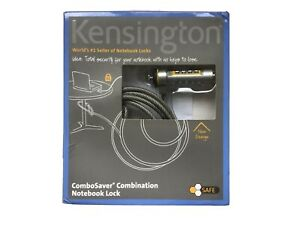 New Kensington ComboSaver Combination Notebook Laptop Cable Lock-Ships Same Day