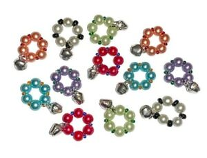 8mm 10mm Colourful Pigeon Bird Bell Rings Closed Leg Bands