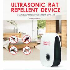 Ultrasonic Electronic Anti Mosquito Rat Mice Pest Bug Control Repeller EU Plug