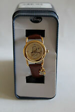 Disney Winnie the Pooh  leather band watch, Quartz. new/ Box/ warranty,