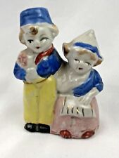 Vintage Dutch Figure Figurine Boy & Girl made in Japan                  Q