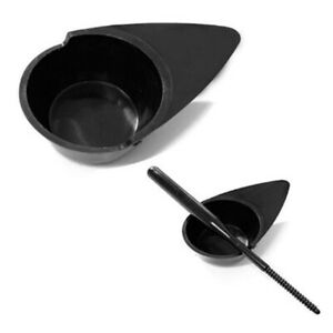 2PCS Embroidery Eyebrow Ink Cup Microblading Tattoo Cap Pigment Holder Contai`